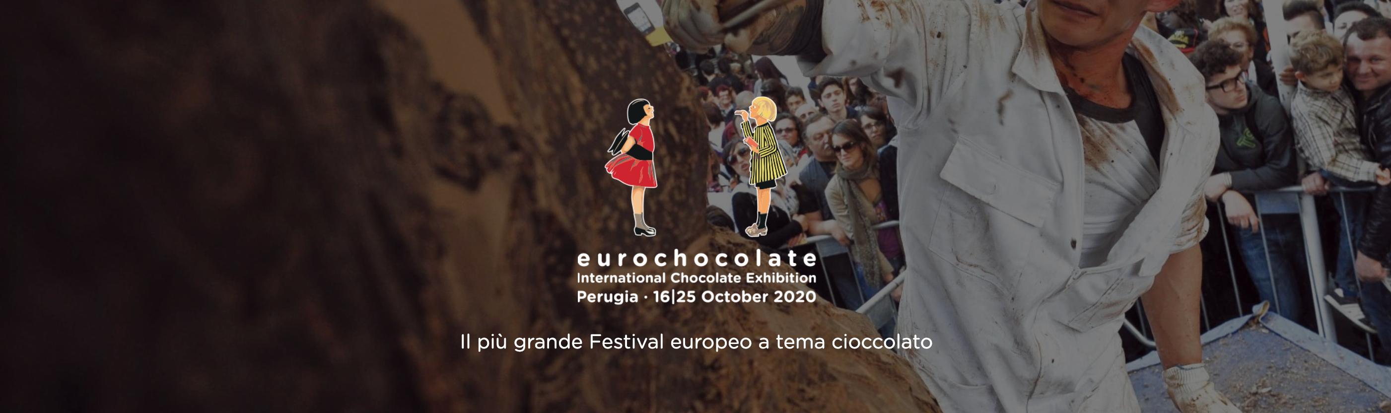 Eurochocolate 2020 | Dal 16 al 25 Ottobre 2020 a Perugia